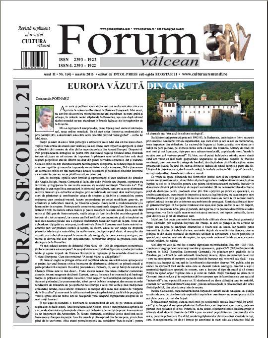 Forum valcean nr3 2015