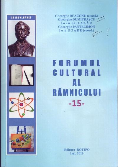 forumul cultural al ramnicului 15