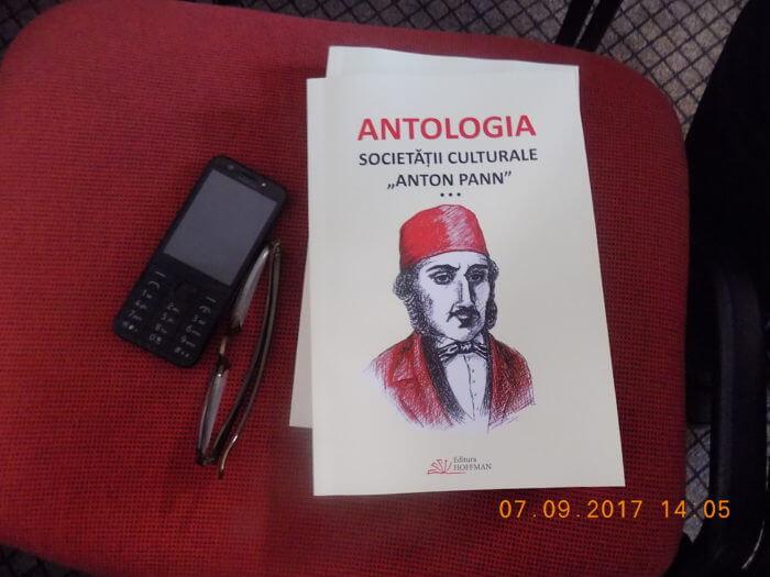 cartea Antologia Societatii Culuturale Anton PAnn