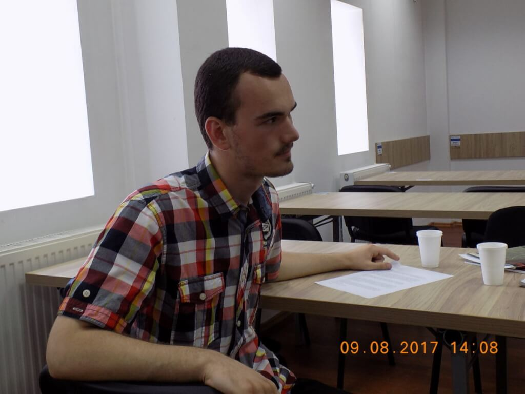 Constantin Teodor Vulpe, Horezu-09-08-17-cenaclu-liceu