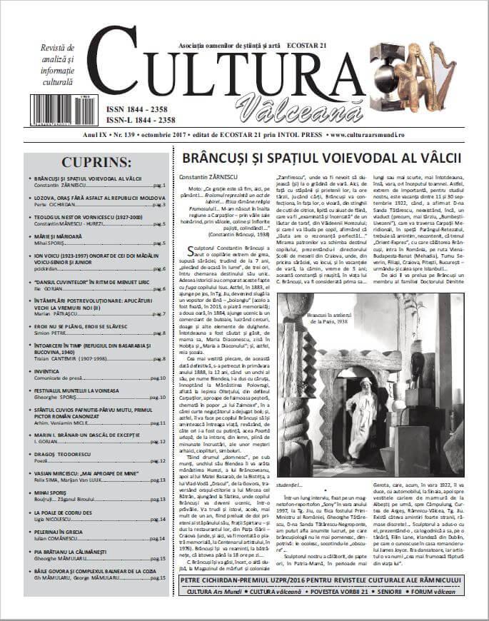 Cultura Valceana octombrie 2017