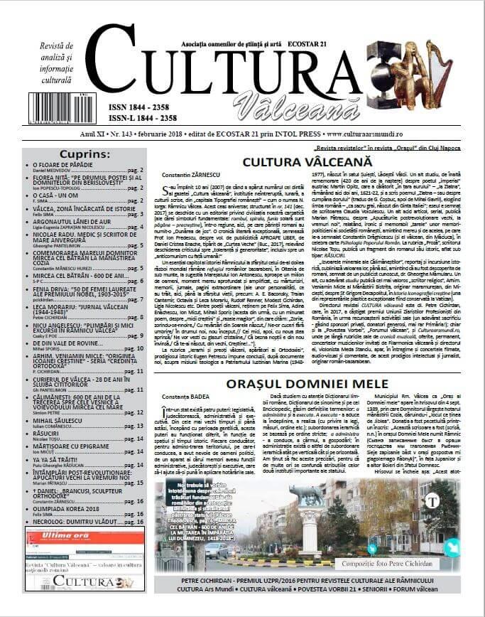 Cultura Valceana feb 2018