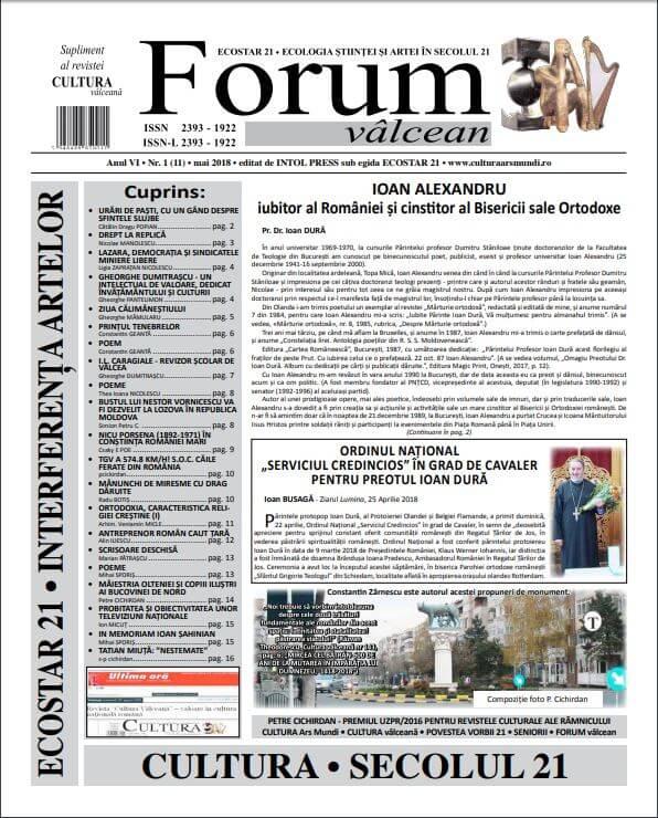 Forum valcean nr1 2018