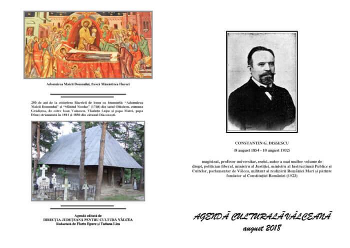 Agenda Culturala Valceana, august 2018
