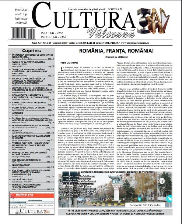 Cultura Valceana august 2018