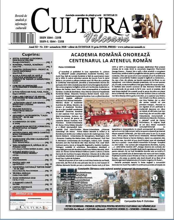 Cultura Valceana oct 2018