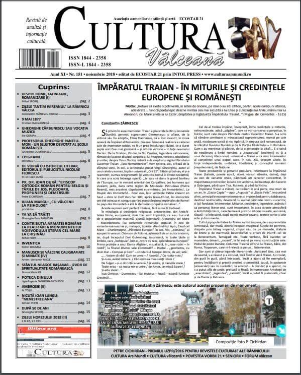Cultura Valceana nov 2018