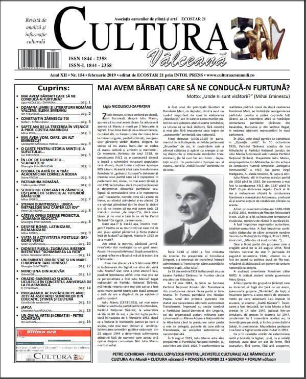 Cultura Valceana feb 2019