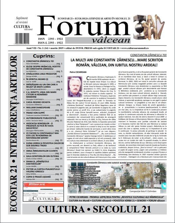Forum valcean nr1 2019