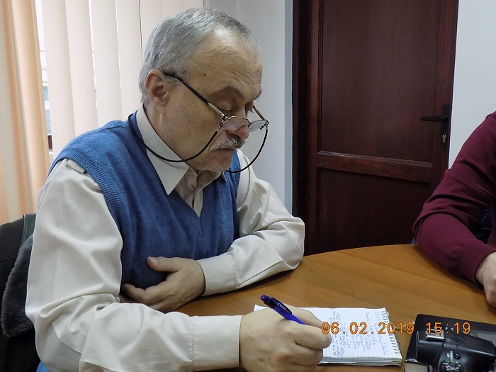 C. O. Dinica - secretar numit la prima sedinta