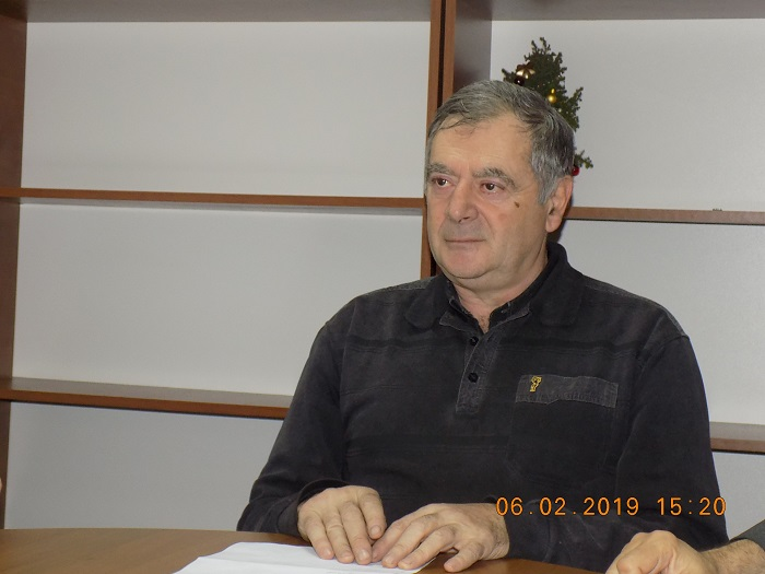 Tiberiu Zamfir-presedinte cenaclu