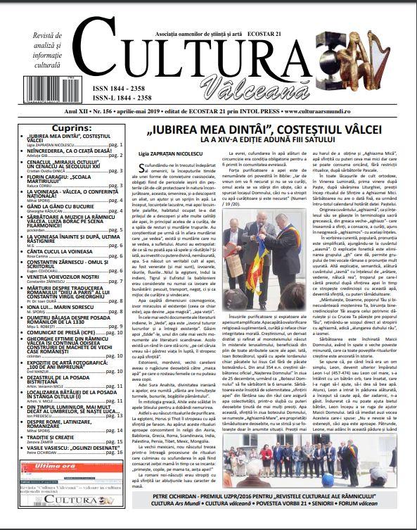 Cultura Valceana apr-mai 2019