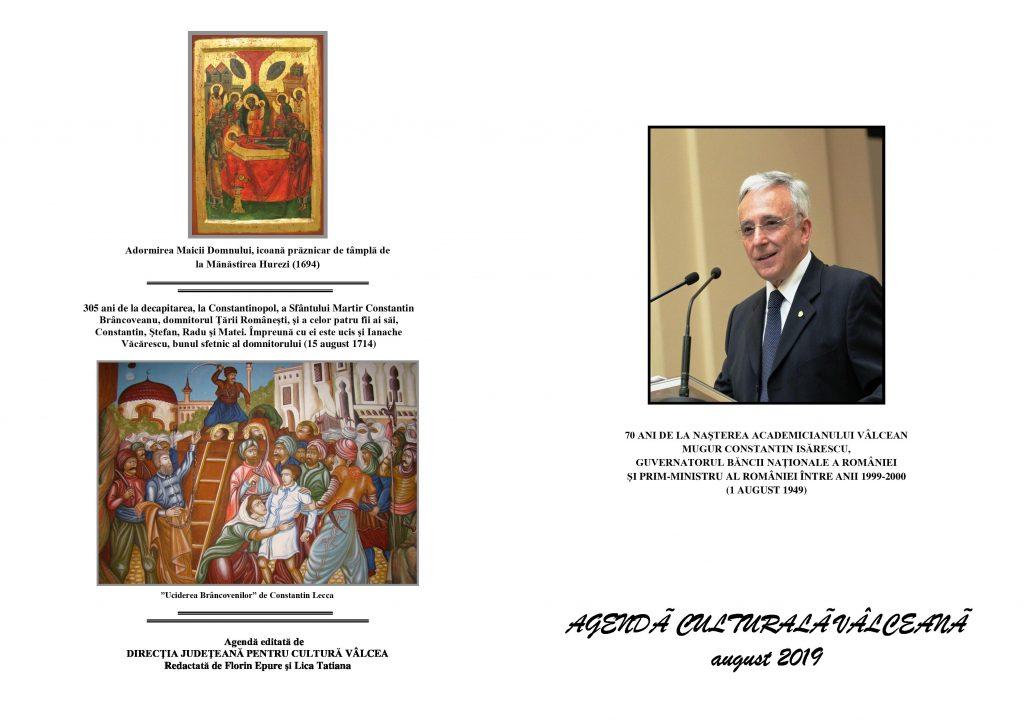 Agenda Culturala Valceana, aug 2019