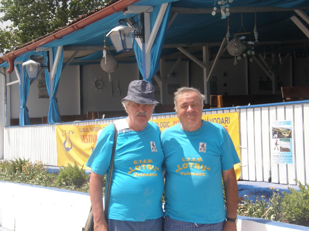 Lia Litoralului 2019 P. Cichirdan și M. Sporiș-Doi componenți de șaoc