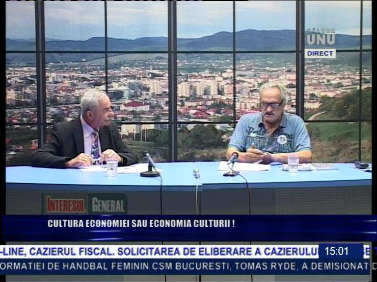 Dan Boban și Petre Cichirdan 03 10 19 la Tv Vâlcea 1