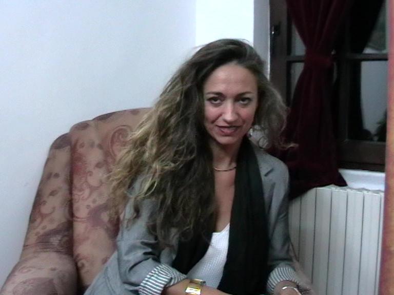 Monica Luezas după repetiție 03 11 19 Filarmonica Rm Vâlcea-foto p.cickirdan