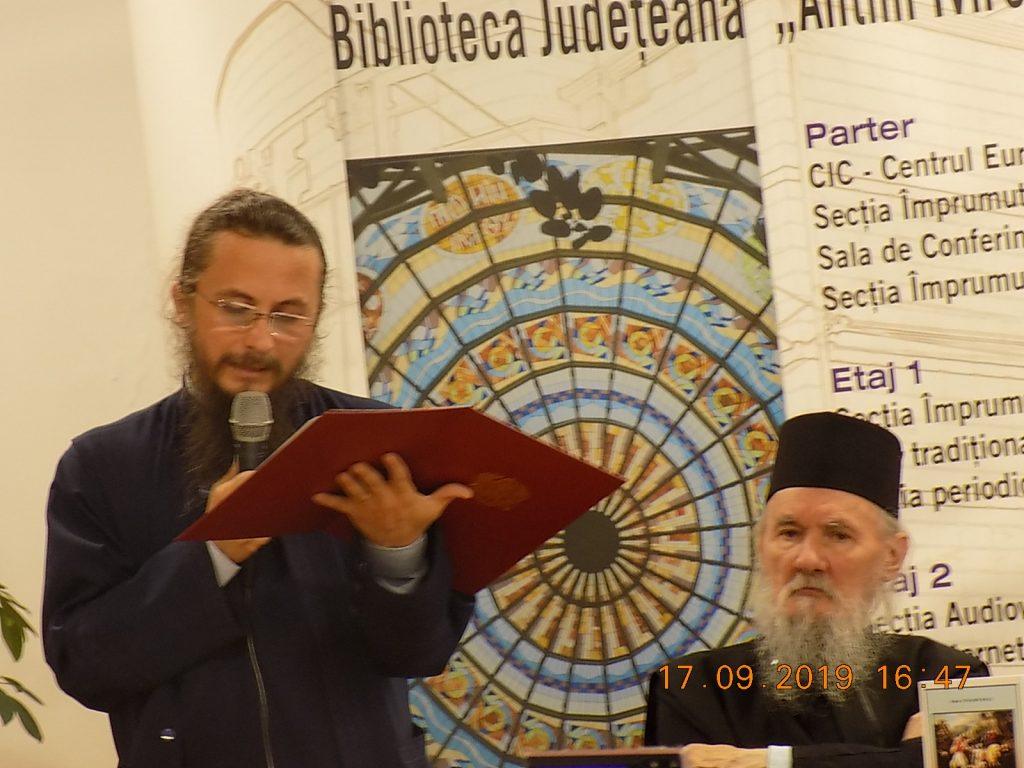 Prof. dr. Ștefan Zară și Arhim. Ștefan Zară