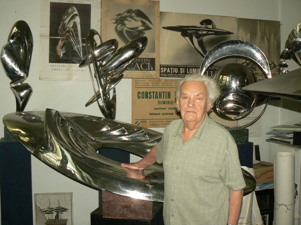 Lucaci 7 iulie 2013 90 ani în atelier