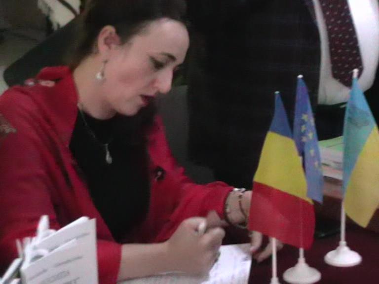 Maria Calancea Simpozion Cernăuți 16 11 19