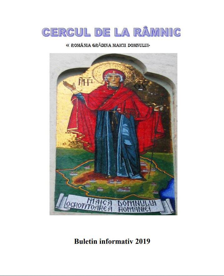 Buletin 2019 Cerc informal, Romania: Gradina Maicii Domnului