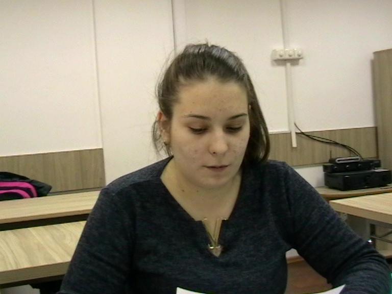 Ioana Florentina IANA, Lic. C. Brâncoveanu, cls a XI-a, Horezu