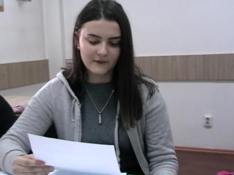 Petruța Cocleț, Lic. C. Brâncoveanu, cls. a XI-a, Horezu