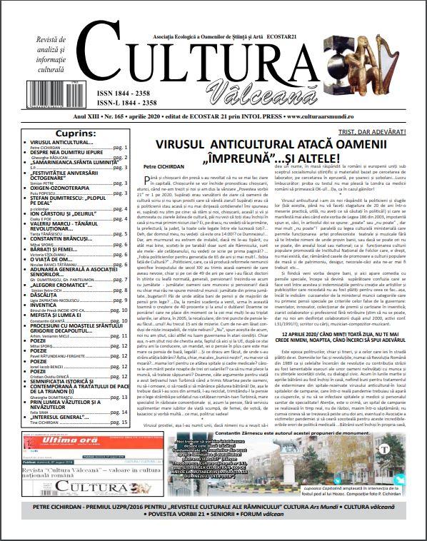 Cultura Valceana apr 2020
