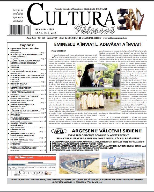 Cultura Valceana iun 2020