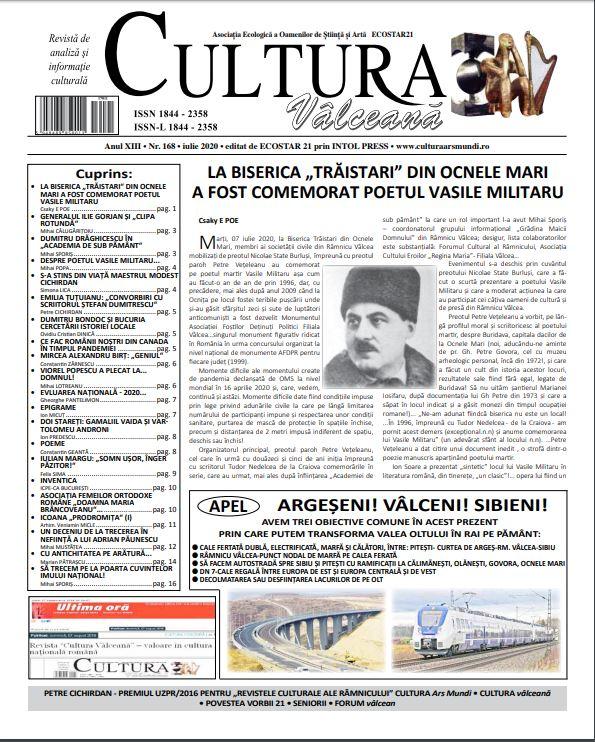 Cultura Valceana iul 2020