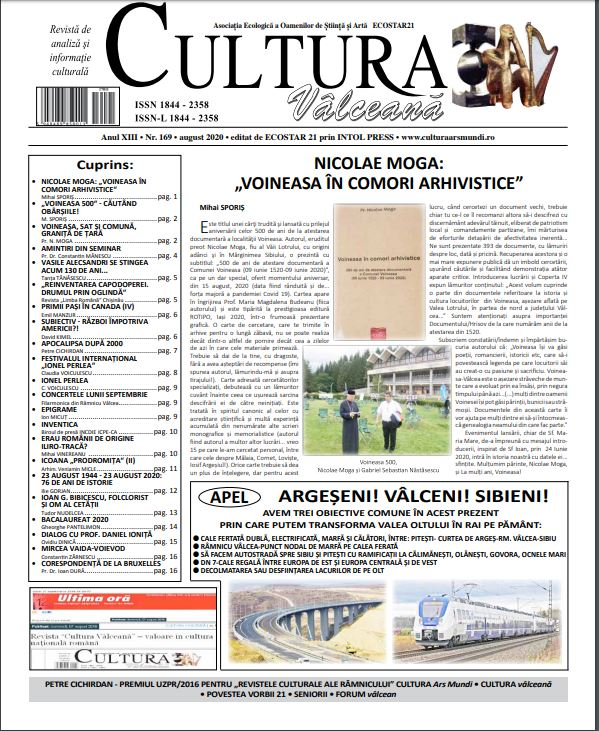 Cultura Valceana aug 2020
