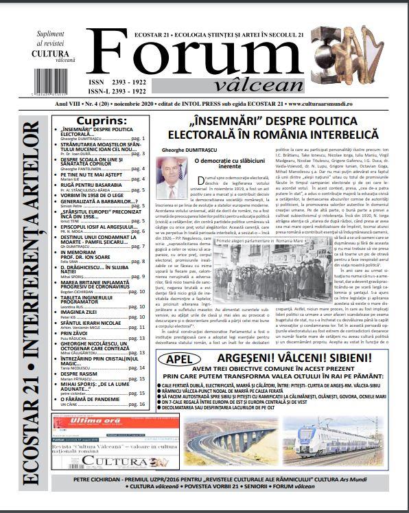 Forum valcean nr4 2020