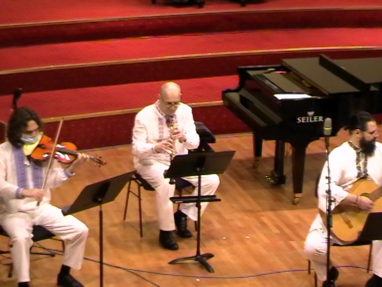 Arheon-Vladislav Railean la vioara - 15 01 21 - Rm. Valcea