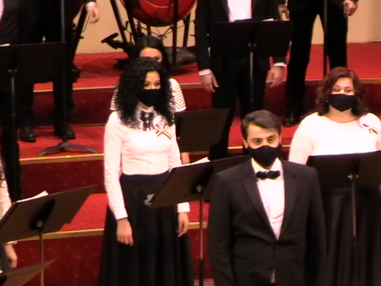 Corul Eufonia- cu masca- Rm. Valcea- 15 01 21