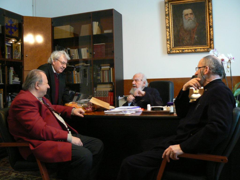 Ioan Barbu, Ioan St Lazăr Valeriu Anania, Nicolae State Burluși, 24 03 09
