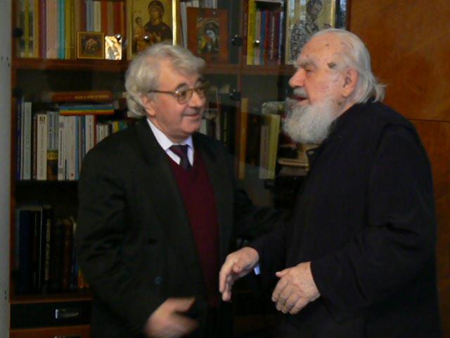 Ioan St Lazăr , Valeriu Anania, foto Intol Press, 24 03 09