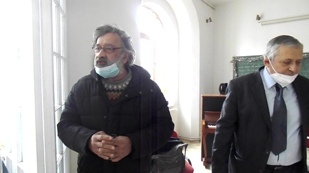 Mircea Goga si Mircea Suchici, Craiova, Zilele Brancusi, 2021,foto P Cich