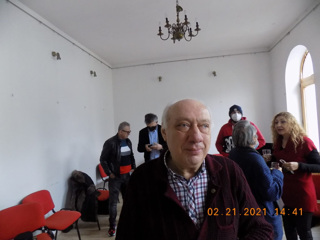 Nucu Marinescu, Craiova, Zilele Brancusi, 2021, foto P Cich