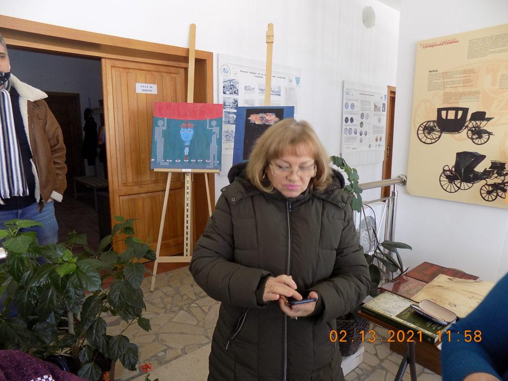 Liliana Popa Potlogi 440 simpozion 13 02 21 - Foto S.P. CICH