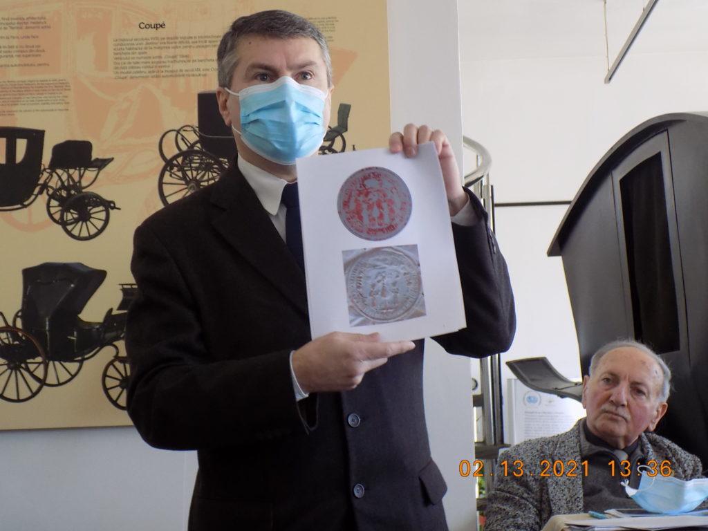 Laurențiu Ștefan Szemkovics - Potlogi 440 - Simpozion 13 02 21 - Foto S.P. CICH