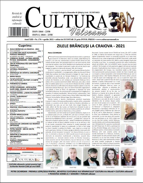 Cultura Valceana aprl 2021