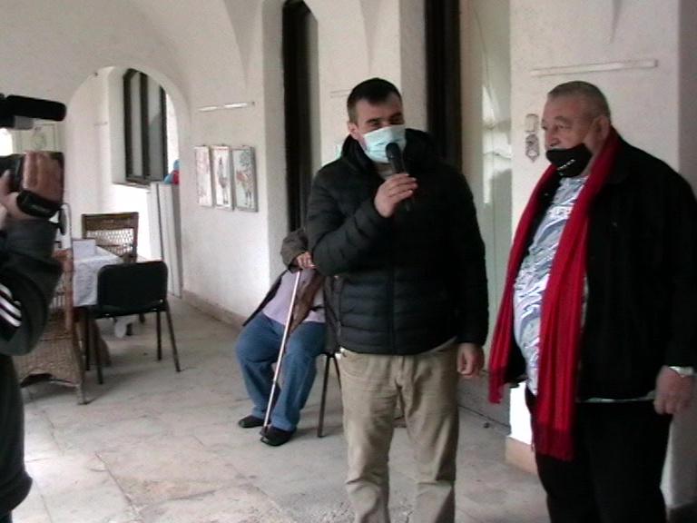 Claudiu Aurel Tulugea, dir. Muzeu Valcea- Marius Ghica, Muzeul Simian 15 04 21, Foto S-P C