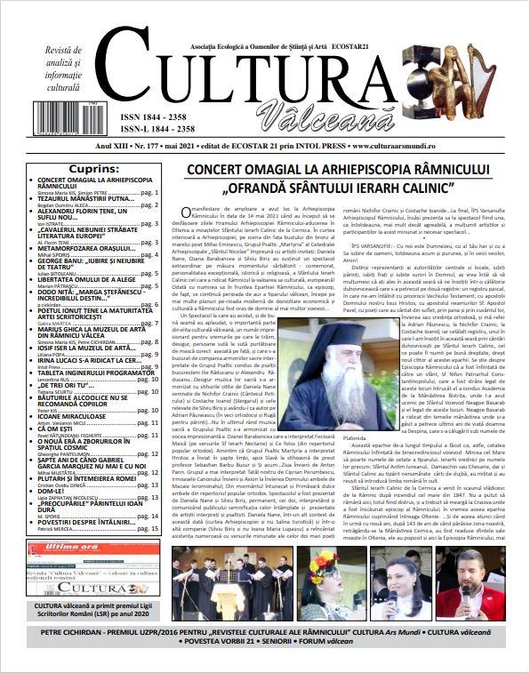 Cultura Valceana mai 2021