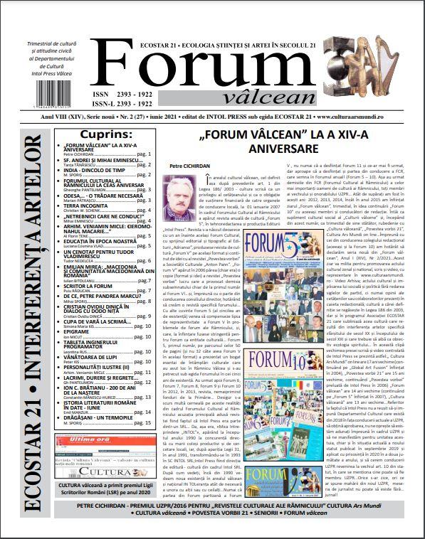 Forum valcean nr2 2020