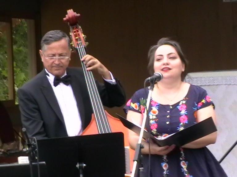 Monica Valentina Scurtu și Victor Nemțanu, Arhiepiscopie, 15 06 21, foto Simion PETRE