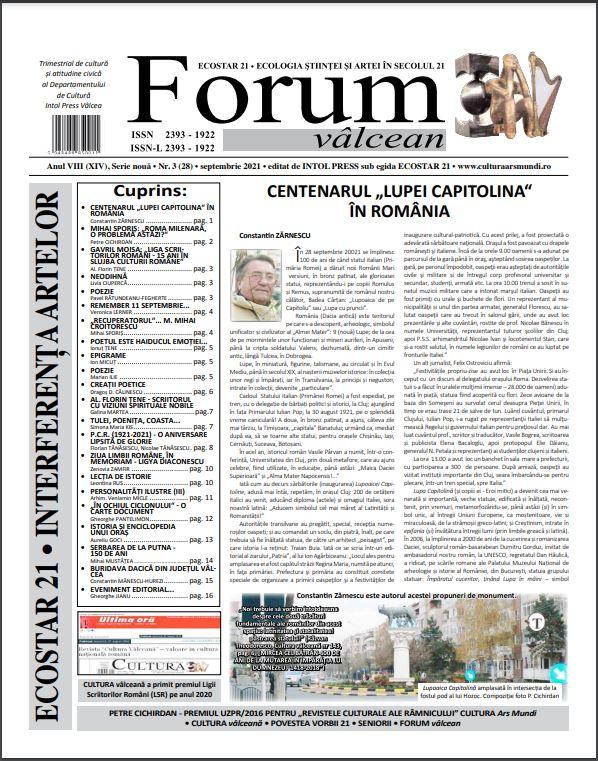 Forum valcean nr3 2020