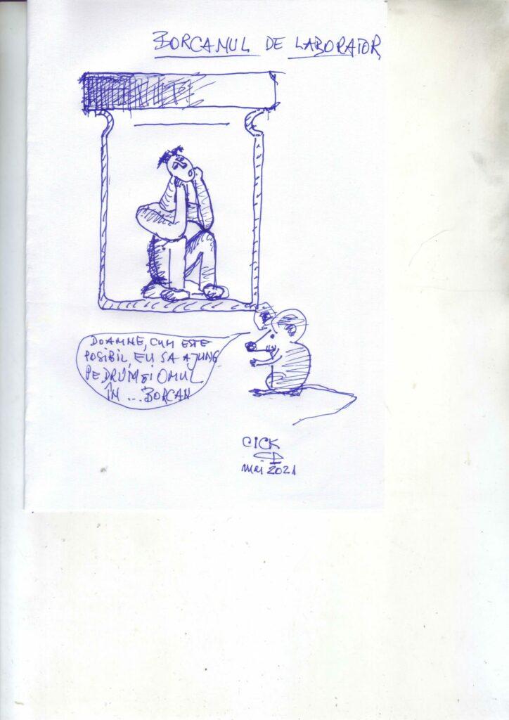 Lira Litoralului 2021 - proba caricatură -DOAMNE, CUM E POSIBIL EU SĂ AJUNG PE DRUM ȘI OMUL IN BORCAN...