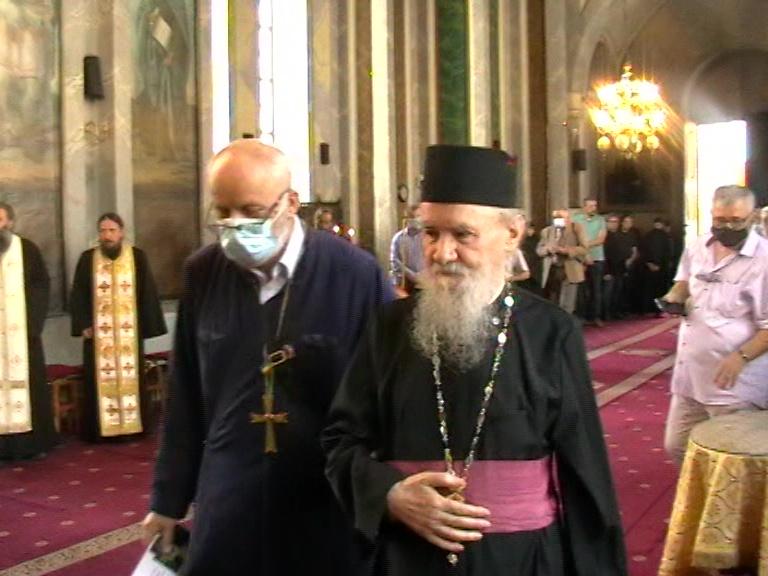 Arhim V Micle si Pr. Nicolae State Burluși